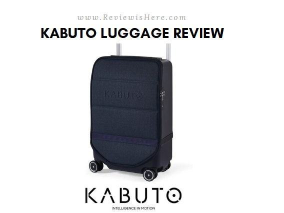 Kabuto Luggage Review