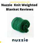 Nuzzie Knit Weighted Blanket Reviews